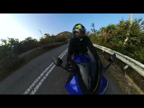 insta 360 one HongKong drive Yamaha R6