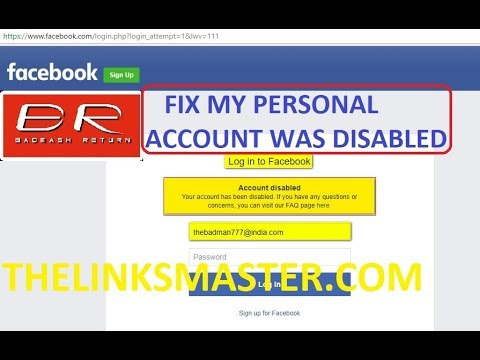 How To Open/Enable Facebook Account After Being Disabled | Temporary Or Permanently Disable