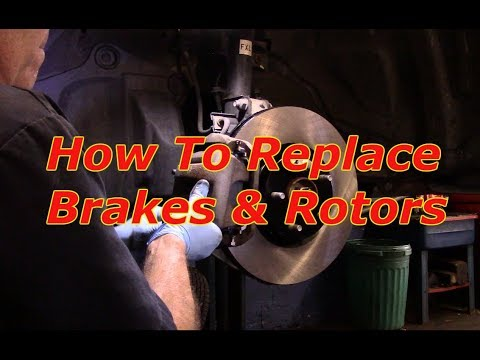 How to replace front brakes and rotors on a 2010 Nissan Murano