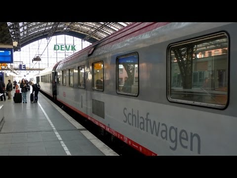 Video guide to the Vienna-Cologne EuroNight train