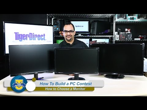 How to Choose a Monitor - Ultimate PC Contest