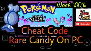 Mega Pokemon, Pokemon super mega emerald, cheat code Mega