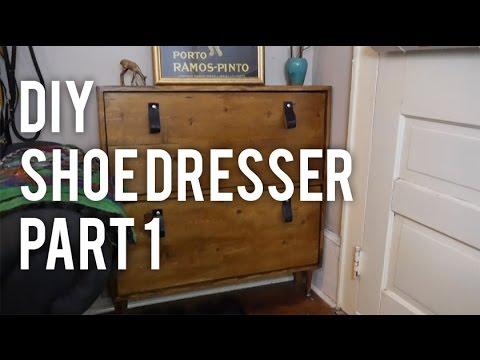 How to Make a Shoe Dresser : DIY