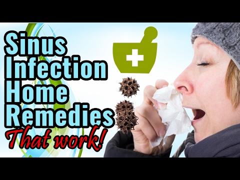 Sinus infections home remedies (MUST WATCH)