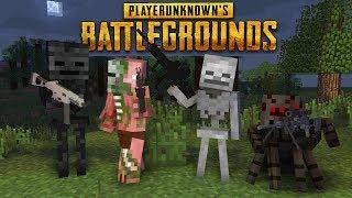 Monster school : PLAYER UNKNOWN BATTLEGROUNDS (PUBG) CHALLENGE - Minecraft animation