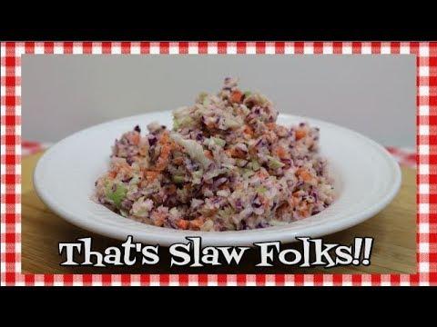 KFC Coleslaw Copycat Recipe ~ Homemade Cole Slaw Recipe ~ Coleslaw ~ Copycat ~ Noreen's Kitchen