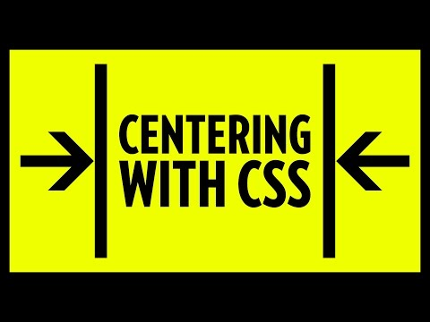 Centering with CSS