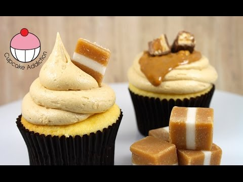 Caramel Frosting Recipe - 3 Ingredient CHEATS Recipe by Cupcake Addiction