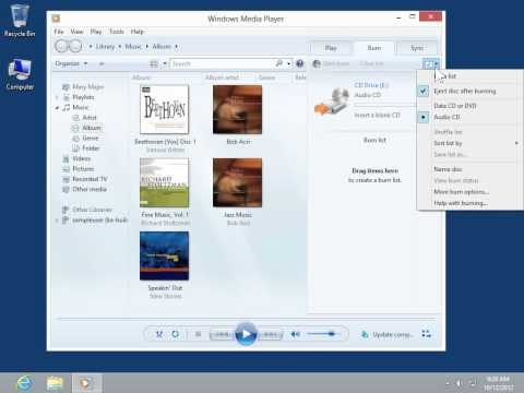 Windows 8.0 Professional -Use Copy Protection When Ripping Music in Windows Media Player