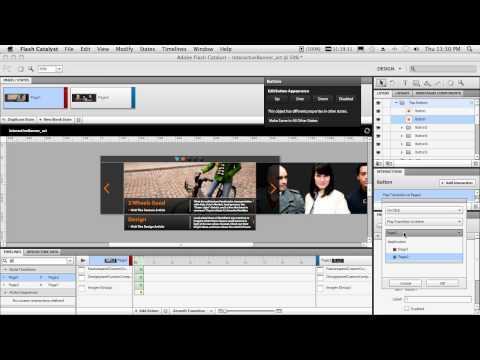 Adobe Flash Catalyst CS5 - My Top 5 Favorite Features
