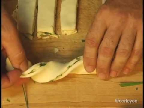 Pizza and Chive & Cheese Twists Recipes