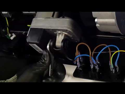 How to change the incline motor on a T990A treadmill ?