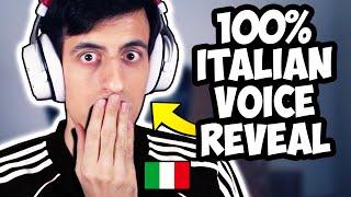 Parlo in italiano