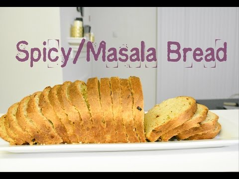 Eggless Spicy/Masala bread Recipe