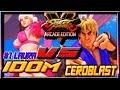 SFV AE ☆  iDom (Laura) vs CeroBlast (Ken) Street fighter V Arcade edition