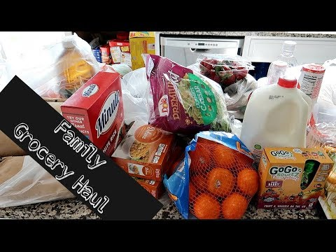 WHAT WE EAT IN A WEEK! | Family of 6! Grocery Haul!