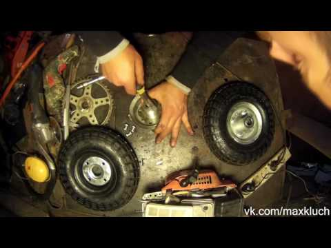 Motorized Drift Trike DIY   1