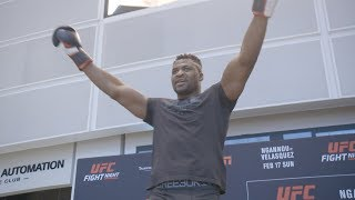 UFC Phoenix: Open Workout Highlights