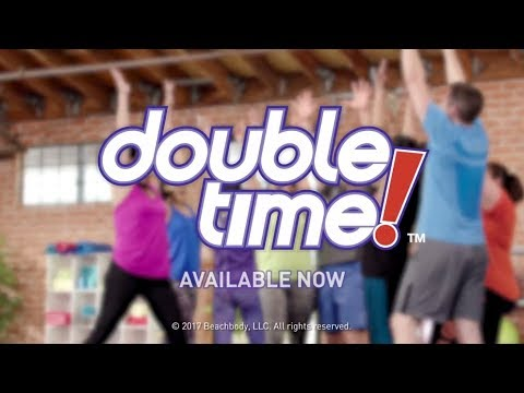 Beachbody's DOUBLE TIME! - Available Now