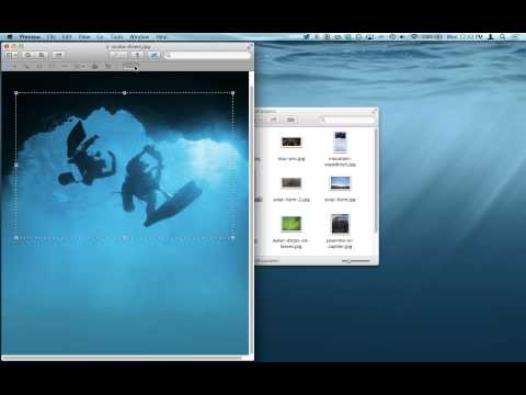 How to Crop Pictures in Mac OS X Using Preview