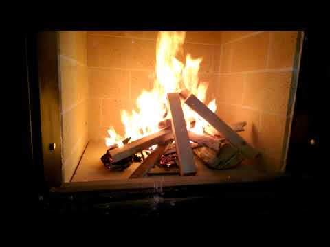 First Curing Fire in the Masonry Heater