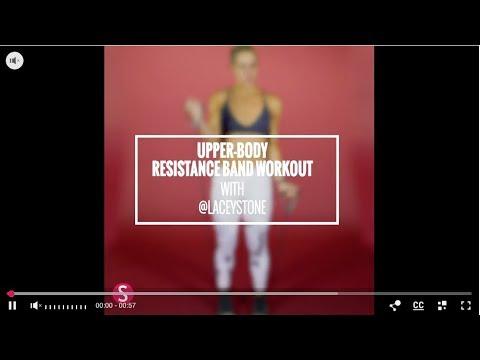 Upper Body Resistance Band Training | SHAPE