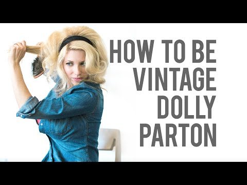 How-To Dolly Parton Costume