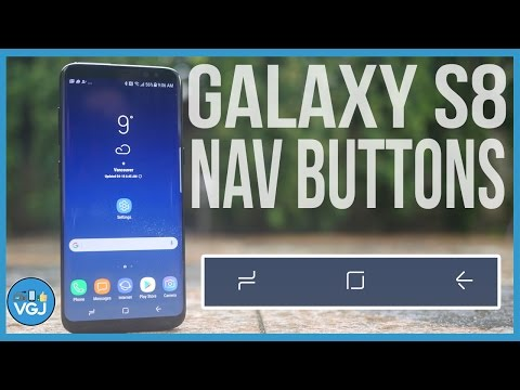 Samsung Galaxy S8 & S8+ - Navigation Buttons Guide