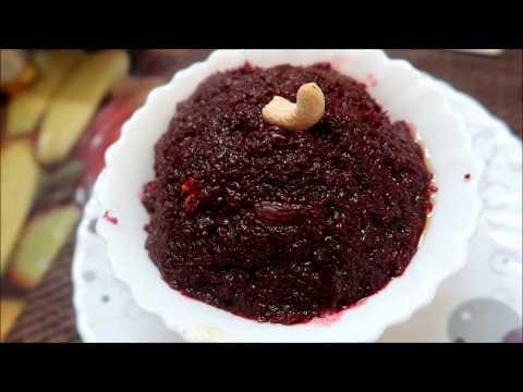 Beetroot  Halwa   Soft healthy halwa