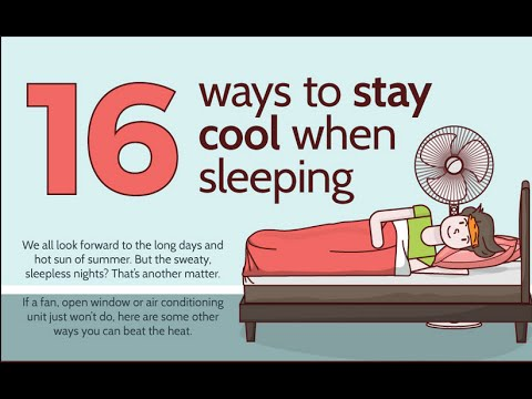 16 Trick To Sleep All Night In A Hot Weather