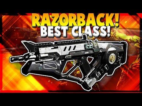 Black Ops 3 Best Class Setup Razorback (COD BO3 PS