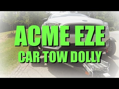 The ACME EZE-Tow Car Tow Dolly for your RV