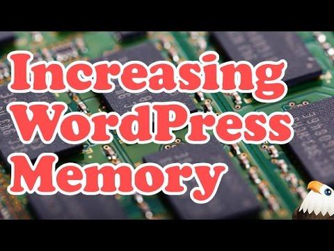 Increasing WordPress Memory Limit Tutorial