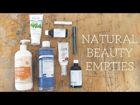 Empties | natural, organic & cruelty-free beauty products