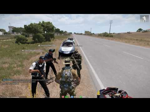 [Arma 3 ] Being pulled over by the police.