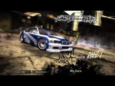 NFS Most Wanted - Create A Save Game With 100 Stock Cars!