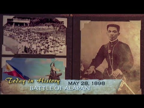 Battle of Alapan, the first military victory of Gen. Aguinaldo | Today in History