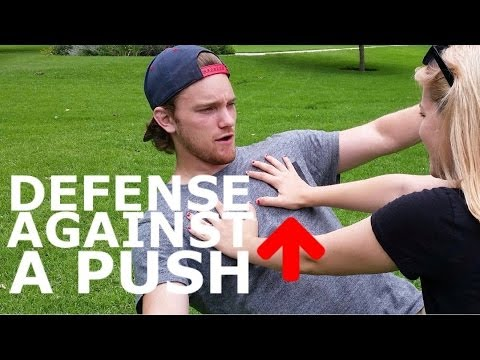 How to Defend Someone Pushing or Shoving You