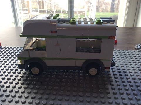 how to build a lego camper