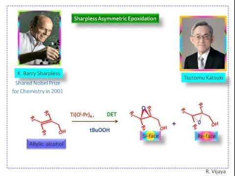 Sharpless Asymmetric Epoxidation-Part-1-Introduction(Enantio selective Epoxidation)