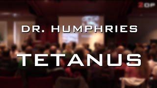 Dr. Humphries on tetanus, immunity and epigenetics