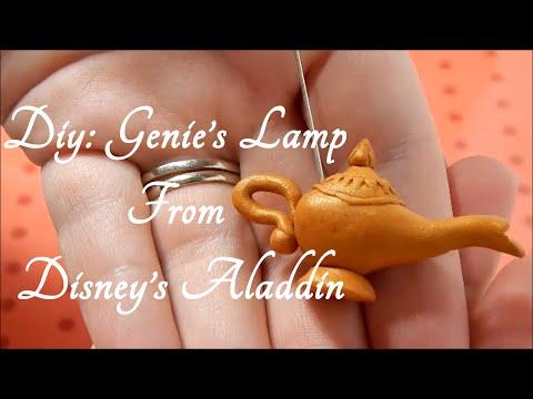 DIY: Genie's Lamp charm From Disney's Aladdin ( Disney Series: Part 3)
