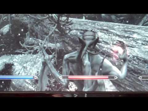 Skyrim: SUPER LEGENDARY VAMPIRE LORD DANCE