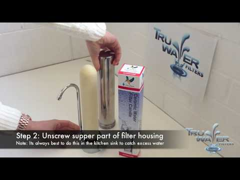 How To Replace Your Doulton Ultracarb or Sterasyl Ceramic Water Filter Candle