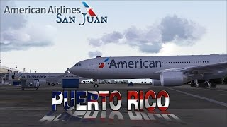 FSX [HD] - Virgin Atlantic | Airbus A330-300 | Hard landing