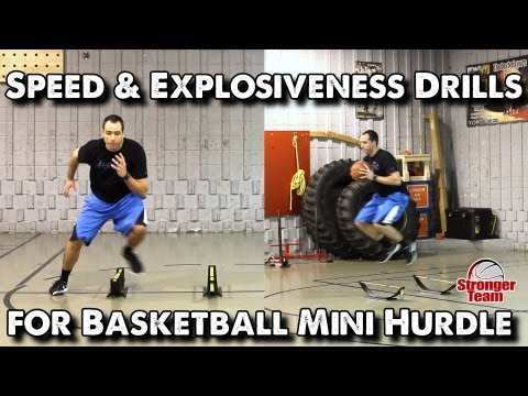 Speed & Explosiveness Drills for Basketball - Mini Hurdle