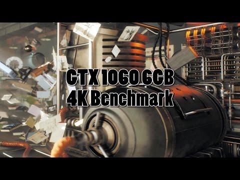 GTX 1060 6GB Superposition 4K Optimized [Gameplay & Benchmark]