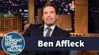 Jimmy chats with Ben Affleck about his movie, Gone Girl, and how Ben morphs into an intense spectator dad at his kids