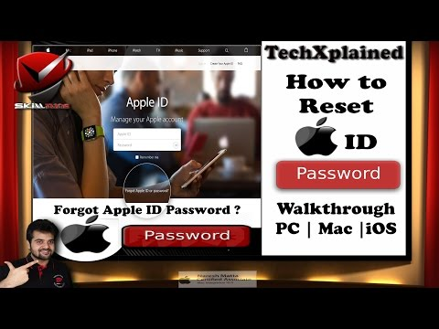 Forgot Apple ID Password | How to Reset Apple ID Password | iForgot