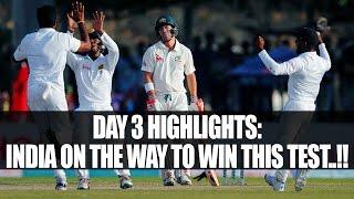 India vs Australia 4th Test Highlights: India need 87 runs to win series | Oneindia News